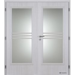 Dvojkrídlové polypropylénové dvere Masonite - Panorama - Jasan