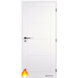 Jednokrídlové protipožiarné dvere Masonite - DAKOTA