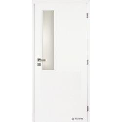 Jednokrídlové biele dvere Masonite - Vertikus