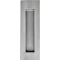 Príplatok - Mušľa na posuvné dvere hranatá - Bez otvoru