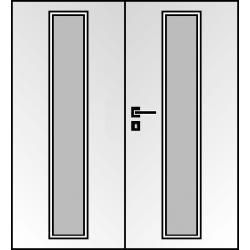 Dvojkrídlové laminátové dvere Masonite - Linea
