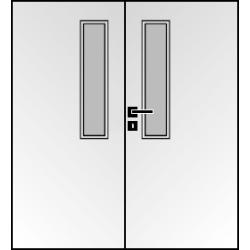 Dvojkrídlové laminátové dvere Masonite - Vertikus