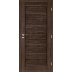 Jednokrídlové rámové dvere Masonite - Britannia panel - Orech rustikálny