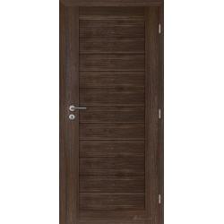 Jednokrídlové rámové dvere - Caledonia panel - Orech rustikálny