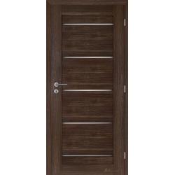Jednokrídlové rámové dvere Masonite - Victoria panel - Orech rustikálny
