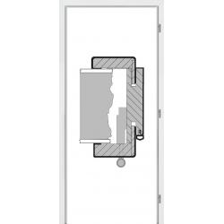 Jednokrídlová zárubňa QUATRO séria