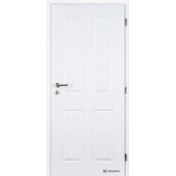 Jednokrídlové dvere Masonite - ODYSSEUS Biele