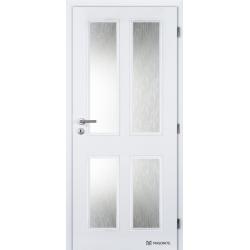 Jednokrídlové dvere Masonite - HECTOR Biele