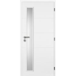 Jednokrídlové dvere Masonite - QUATRO VERTIKA
