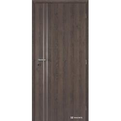 Jednokrídlové laminátové dvere Masonite - ALU II - CPL Dub kubánský