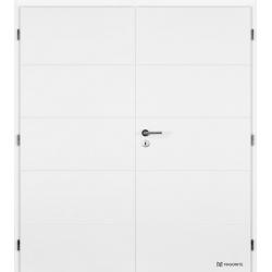 Dvojkrídlové dvere MASONITE - QUATRO Plné