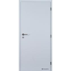 Jednokrídlové 3D polypropylénové dvere Plné - Biela pór