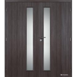 Dvojkrídlové polypropylénové dvere Masonite - Vertika - Malaga