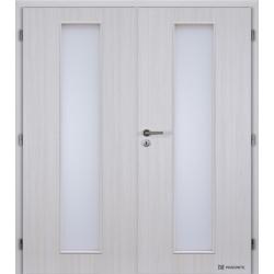 Dvojkrídlové polypropylénové dvere Masonite - Linea - Jasan