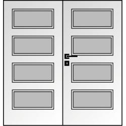Dvojkrídlové polypropylénové dvere Masonite - Dominant