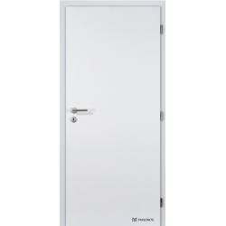 Jednokrídlové laminátové dvere Masonite - Plné - CPL Biela hladká