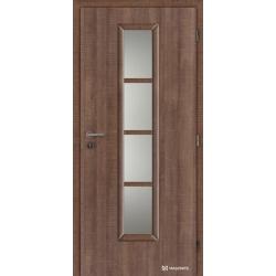 Jednokrídlové laminátové dvere Masonite - Axis sklo - CPL Authentic