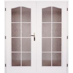 Dvojkrídlové dvere Masonite - OCTAVIANUS Biele