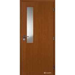Jednokrídlové fóliované dvere Masonite - Vertikus - Fólia Jelša