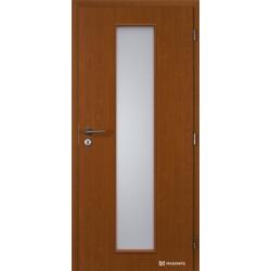 Jednokrídlové fóliované dvere Masonite - Linea - Fólia Jelša