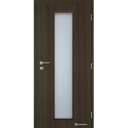 Jednokrídlové fóliované dvere Masonite - Linea - Fólia Makasar