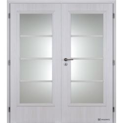 Dvojkrídlové polypropylénové dvere Masonite - Superior - Jasan