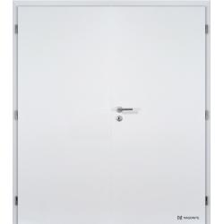 Dvojkrídlové laminátové dvere Masonite - Plné - CPL Biela hladká