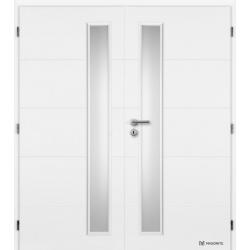 Dvojkrídlové dvere MASONITE - QUATRO VERTIKA