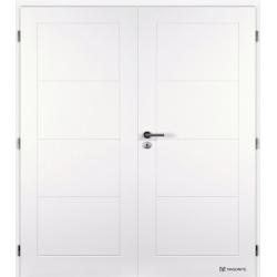 Dvojkrídlové dvere Masonite - DAKOTA Plné