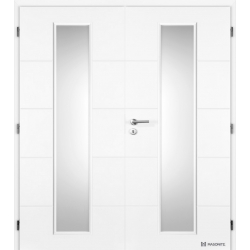 Dvojkrídlové dvere Masonite - QUATRO LINEA