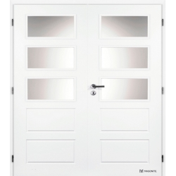 Dvojkrídlové dvere Masonite - OREGON Sklo