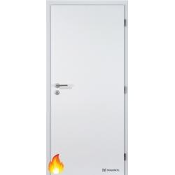 Jednokrídlové protipožiarné laminátové dvere Masonite - Plné - CPL Biela hladká