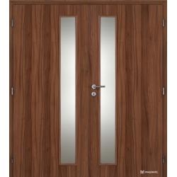 Dvojkrídlové laminátové dvere Masonite - Vertika - CPL Orech