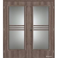 Dvojkrídlové laminátové dvere Masonite - Panorama - CPL Nebrasca