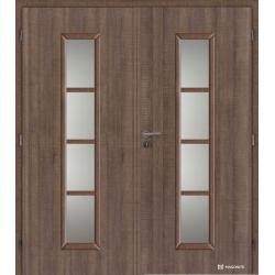 Dvojkrídlové laminátové dvere Masonite - Axis - CPL Authentic