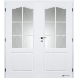 Dvojkrídlové dvere Masonite - SOCRATES Biele